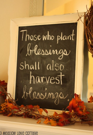 Meadow Lake Cottage: Fall Decorating