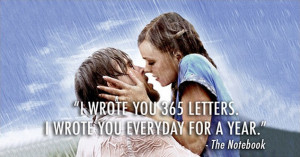 ... the notebook starring ryan gosling and rachel mcadams as noah and