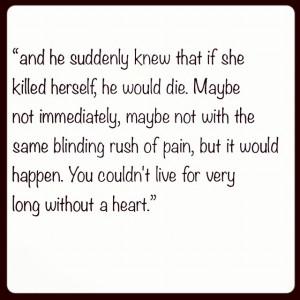 Jodi Picoult quote. Truth.