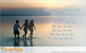 ... thoughts friendship love the greatest gift of life is friendship and