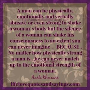 Women Are Emotionally Stronger Than Men.
