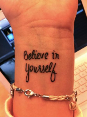 ... believe quote tattoo tattoos tattoo designs tattoo pictures tribal