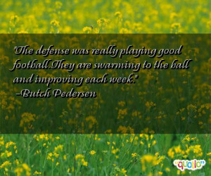 Quotes About Football Defense