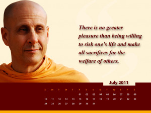 Welfare Radhanath Swami On Wallpaper with 1024x768 Resolution