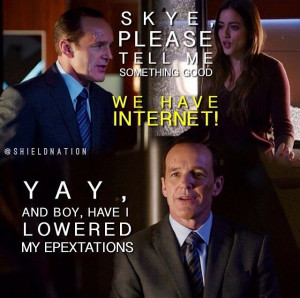 Agents of SHIELD | Coulson and Skye