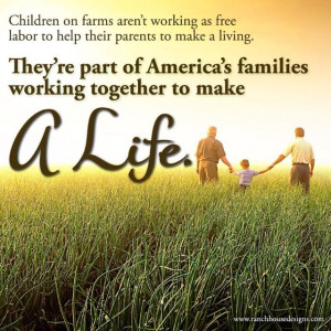 Isn't that the truth. I wouldn't trade our farm life for anything ...