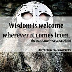 Viking Saga Wisdom -