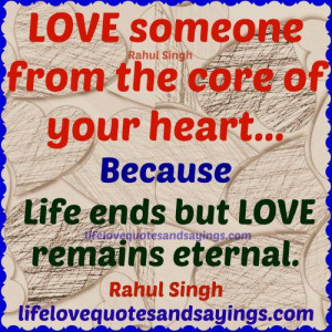 eternal love quotes