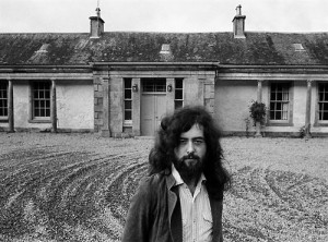 Jimmy Page at Boleskine House