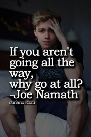 Joe Namath Quotes (Images)