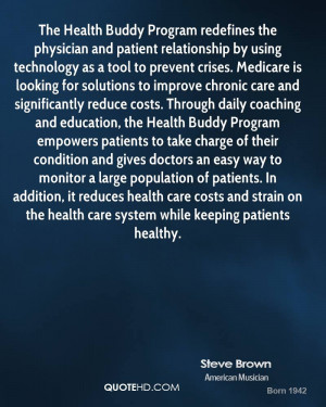 Health Buddy Program redefines the physician and patient relationship ...