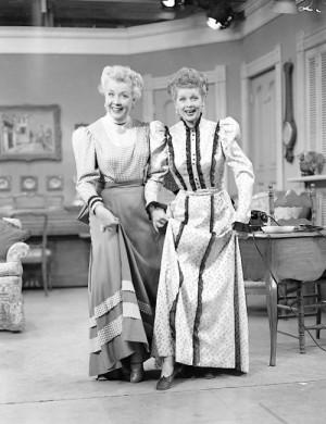 Lucille Ball & Vivian Vance