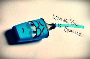 Suicide Love Quotes Suicidal