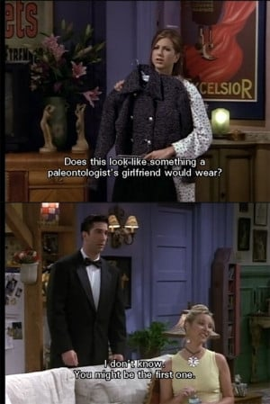 Friends Ross & Rachel