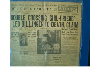 dillinger gang that s the best there is john dillinger
