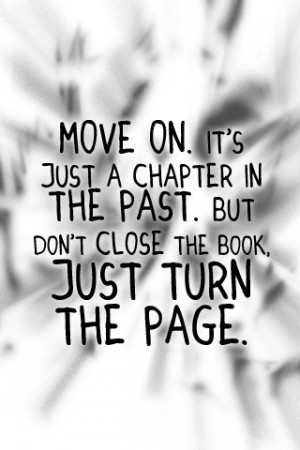 Just turn the page.