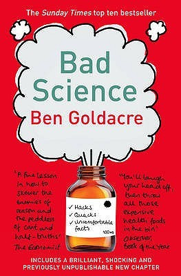"Start by marking ""Bad Science"" as Want to Read:"