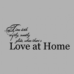 Love at home... Family Wall Quotes Words Sayings Removable Home Wall ...