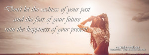 Sadness Of Your Past Facebook Cover