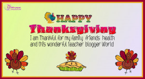 Happy Thanksgiving Day Greetings Cards With Quote and Sayings for ...