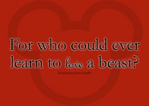 Disney love quotes beauty and the beast