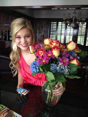 Madison Curtis congratulated Olivia Holt