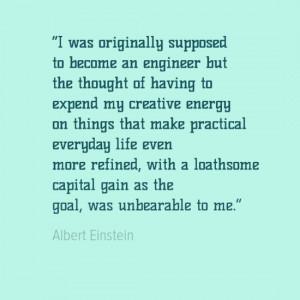 Engineering Quotes - Albert Einstein