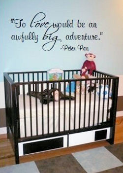 Baby Wall Decals Ebay Details About Large Nursery Baby Wall Quote - Baby boy nursery wall decals