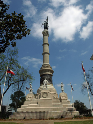 Confederate Memorial on the State Capital Grounds in Montgomery ...