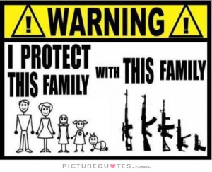 protect this family with this family Picture Quote #1