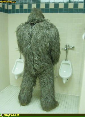 Funny Bigfoot Jokes Bigfoot peeing random