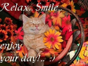 Relax Smile...enjoy your day!