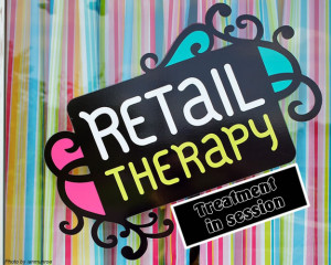 Retail Therapy Atmosphere...
