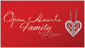 Open Hearts Family Diamond Jewellery by Jane Seymour