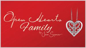 Open Hearts Family Diamond Jewellery by Jane Seymour