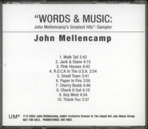 John Cougar Mellencamp, Words & Music: John Mellencamp's Greatest Hits ...