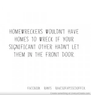 Home Wreckers Quote