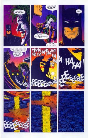 ... kills The Joker…That's why it's called 'The Killing Joke
