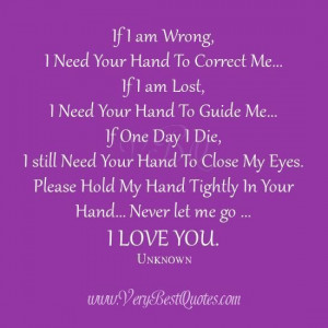 Sweet love quotes hold my hands cute love sayings i love you quotes