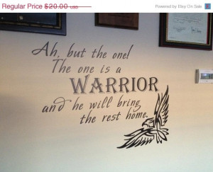 ... Quotes, Warriors Quotes, Sales Warriors, The Warriors, Quotes Vinyls