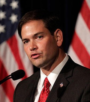 Marco Rubio – tea party conservative supports immigration reform