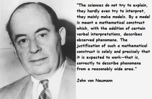 John von neumann famous quotes 5