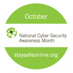 October's message: Information security is everyone's responsibility