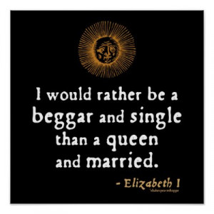 Queen Elizabeth I Quotes On Marriage