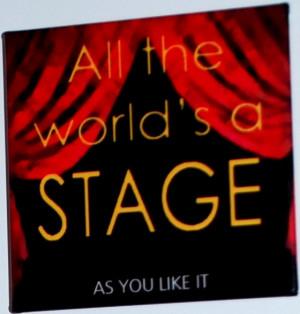 Shakespeare Quotes About Theatre. QuotesGram