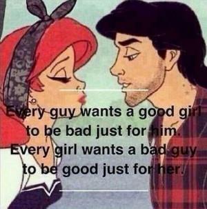 bad girl, bad guy, good girl, good guy, kiss, lips, relationship ...