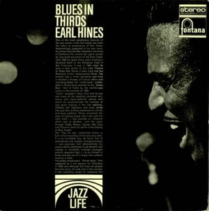Earl Hines Blues In Thirds Dutch Deleted vinyl LP album LP record