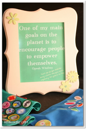 Do you give your Girl Scout leaders a gift? What do you like to give?