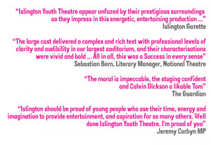 Technical Theatre Quotes National theatre performance