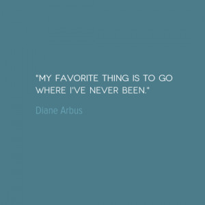 Travel Quote of the Week: My Favorite Thing